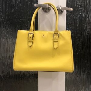 Kate Spade yellow tote bag